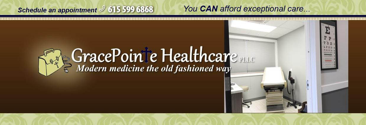 GracePointe Healthcare photo banner