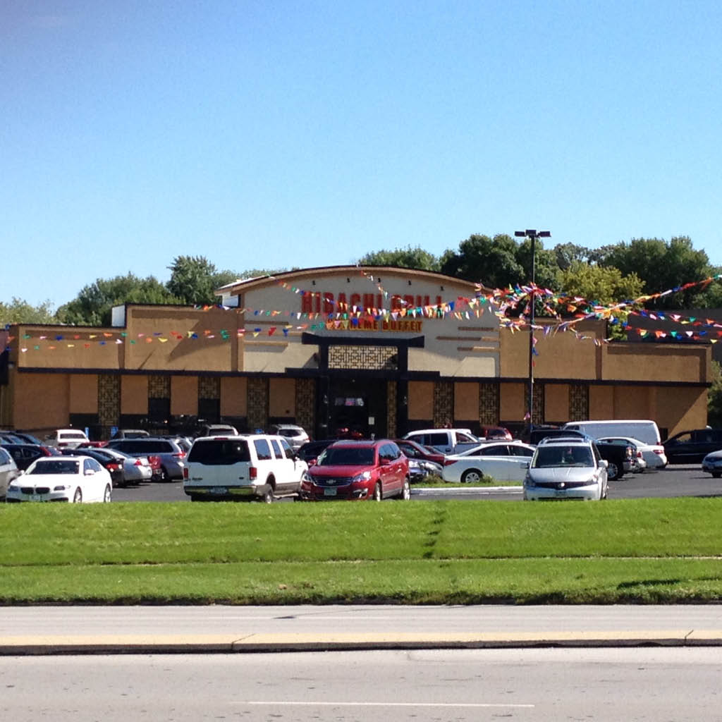 Hibachi Grill Supreme Buffet building in West Des Moines, IA