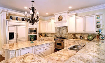 Dream kitchen with granite countertops