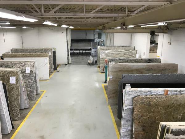 photo of granite slabs at Granite City Inc in Livonia, MI