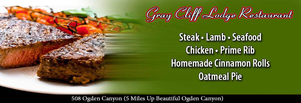 Banner-Gray Cliff Lodge Restaurant, in Ogden Canyon
