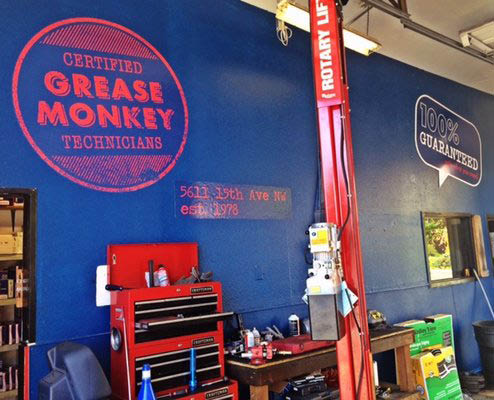 Grease Monkey in Seattle, Washington - Oil changes & more