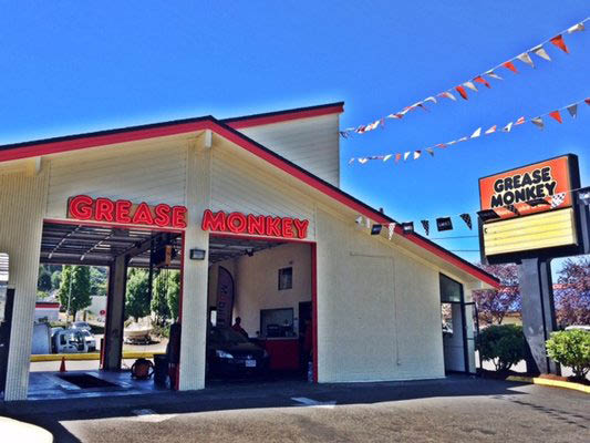 Grease Monkey shop in Rainier Valley, WA - oil changes & more