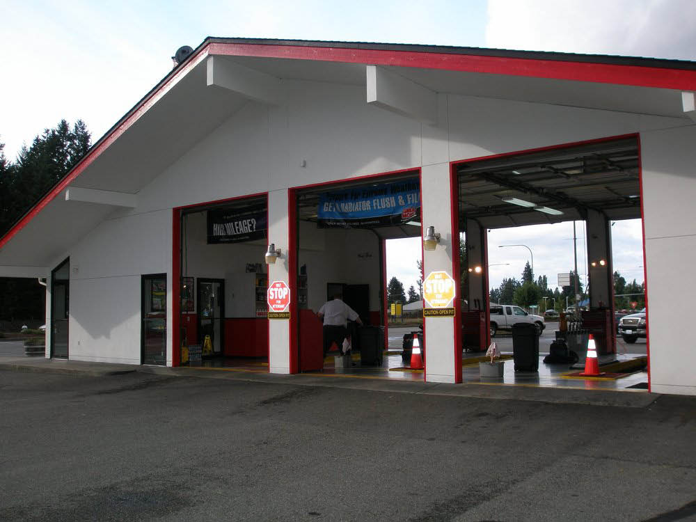 Grease Monkey shop in Spanaway, WA - oil changes & more