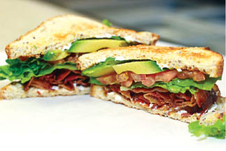photo of BLAT sandwich from Great Lakes Family Dining
