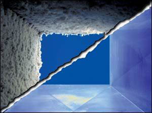 Air duct vent cleaning improves air quality in home