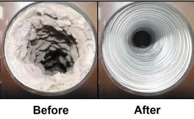 Indoor air quality improves with vent cleaning
