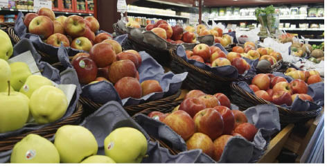 Organic produce available at Green Life Market in Andover NJ