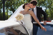 Exit your wedding in a limousine in Danbury.
