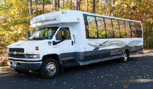 Get a shuttle bus for corporate outings and team building in Danbury, CT.