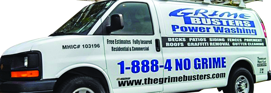 Grime Busters Power Washing in Maryland banner