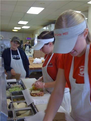 Our dedicated employees prepare delicious sandwiches and serve savory soups. Our Brigham location even offers pizza!