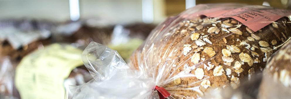 Fresh bread and baked goods at Gristmill Kaysville banner