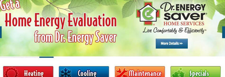Free Home Energy Evaluation from Dr. Energy Saver save money on electric bill