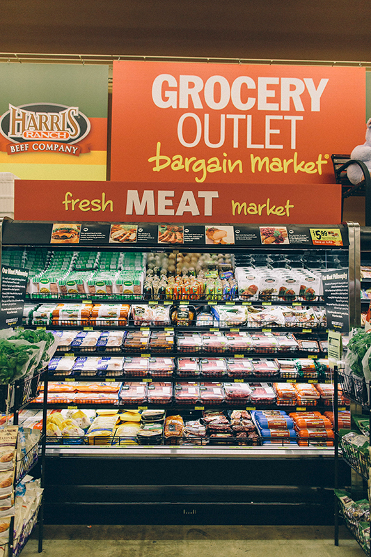 We always have fresh meat for dinner tonight at Grocery Outlet in Antioch and Oakley, CA.