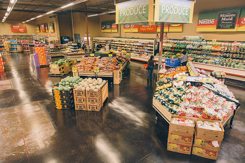 Grocery Outlet in Antioch and Oakley, CA a fresh produce department.