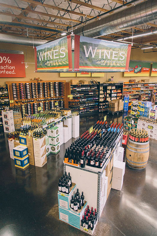 Don't forget the wine when you are at Grocery Outlet in Antioch and Oakley, CA