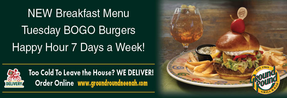 Neenah, Bar and grill, drinks, dinner, Sports Bar, Gluten Free, burgers, seafood,