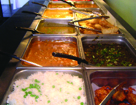 Indian buffet; Indian food coupons Cincinnati