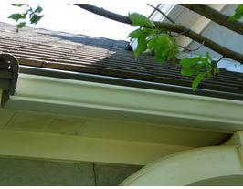 No maintenance gutter cover