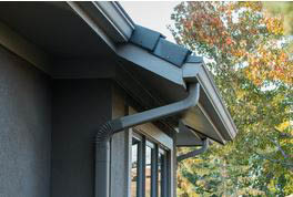 New gutter cover installation