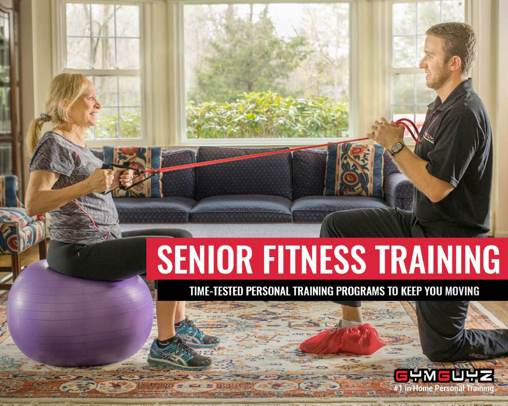 Senior Fitness Training with GYMGUZ in Vernon NJ