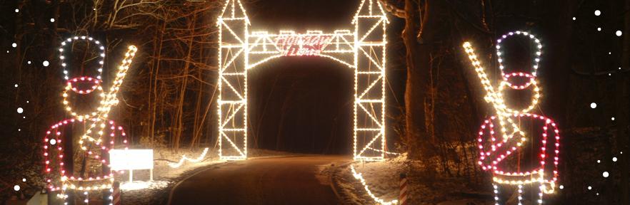 holiday in lights sharon woods christmas light display cincinnati ohio