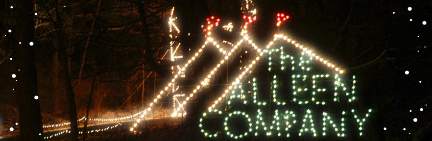 holiday in lights santa visits