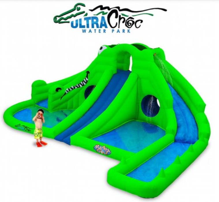 Slide down Ultra Croc - a haven for fun