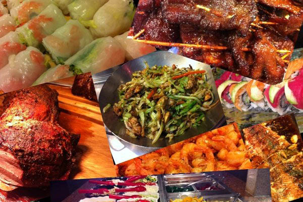 Chinese, buffet, egg roll, soup, beef, chicken, seafood, vegetarian
