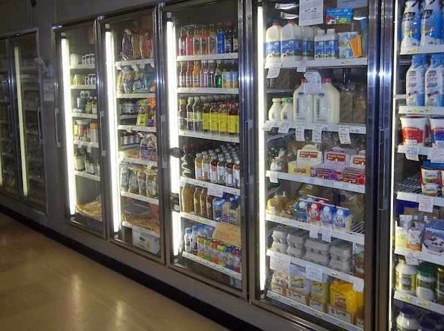 Organic dairy products, proteins and other natural foods sold at Harvest Natural Foods