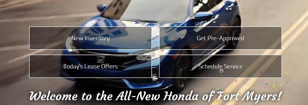 Honda of Fort Myers banner fort myers, fl