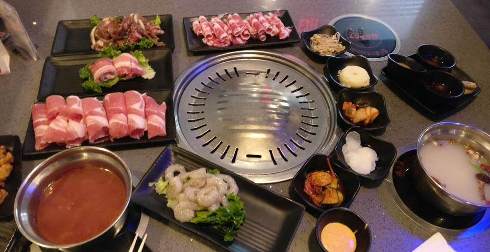 hot pot, korean bbq, ipad ordering; rockville, md