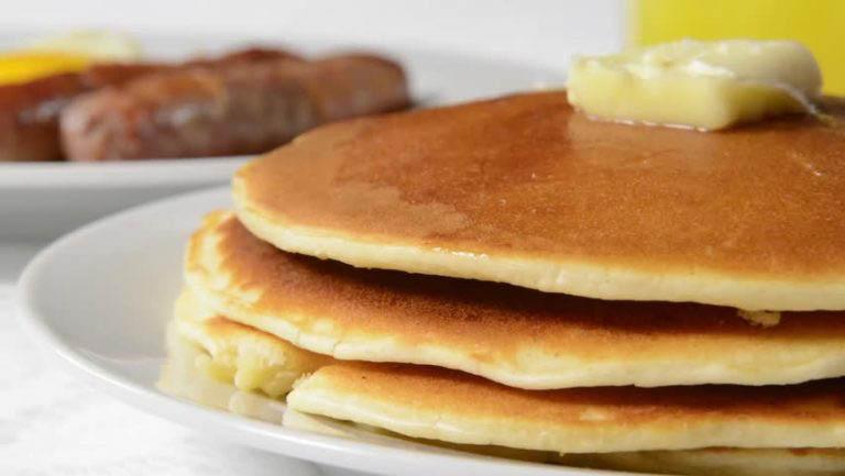 Pancakes, Sausage & Eggs