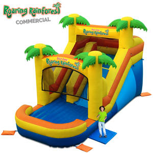 Rainforest Bouncer Slide
