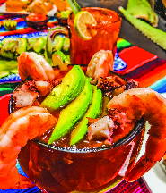 Shrimp cocktail Mexican style