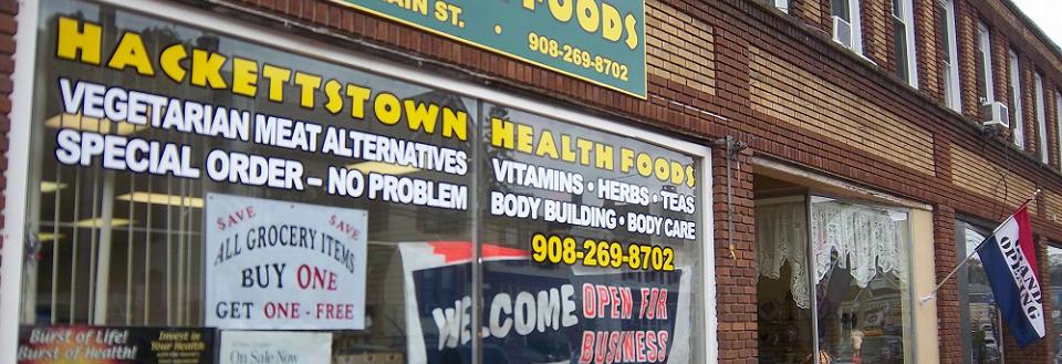 Hackettstown Health Foods in Hackettstown NJ