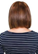 Beautiful sleek hair after keratin treatment
