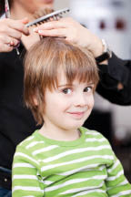 Hairstyles by Rene also offers kids' haircuts
