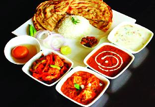 Indian dish combos at Haldi Indian Bar and Restaurant in Elkridge, MD