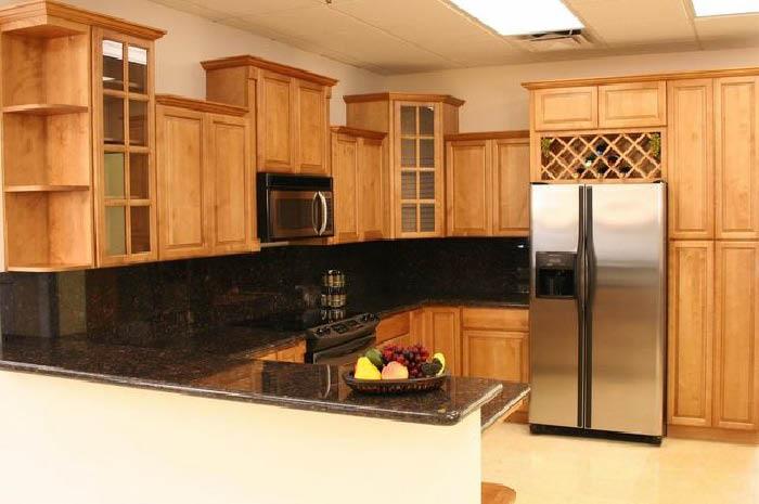 Elegant wooden customized cabinets