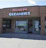 photo of exterior of Hamlin Cleaners in Rochester Hills, MI