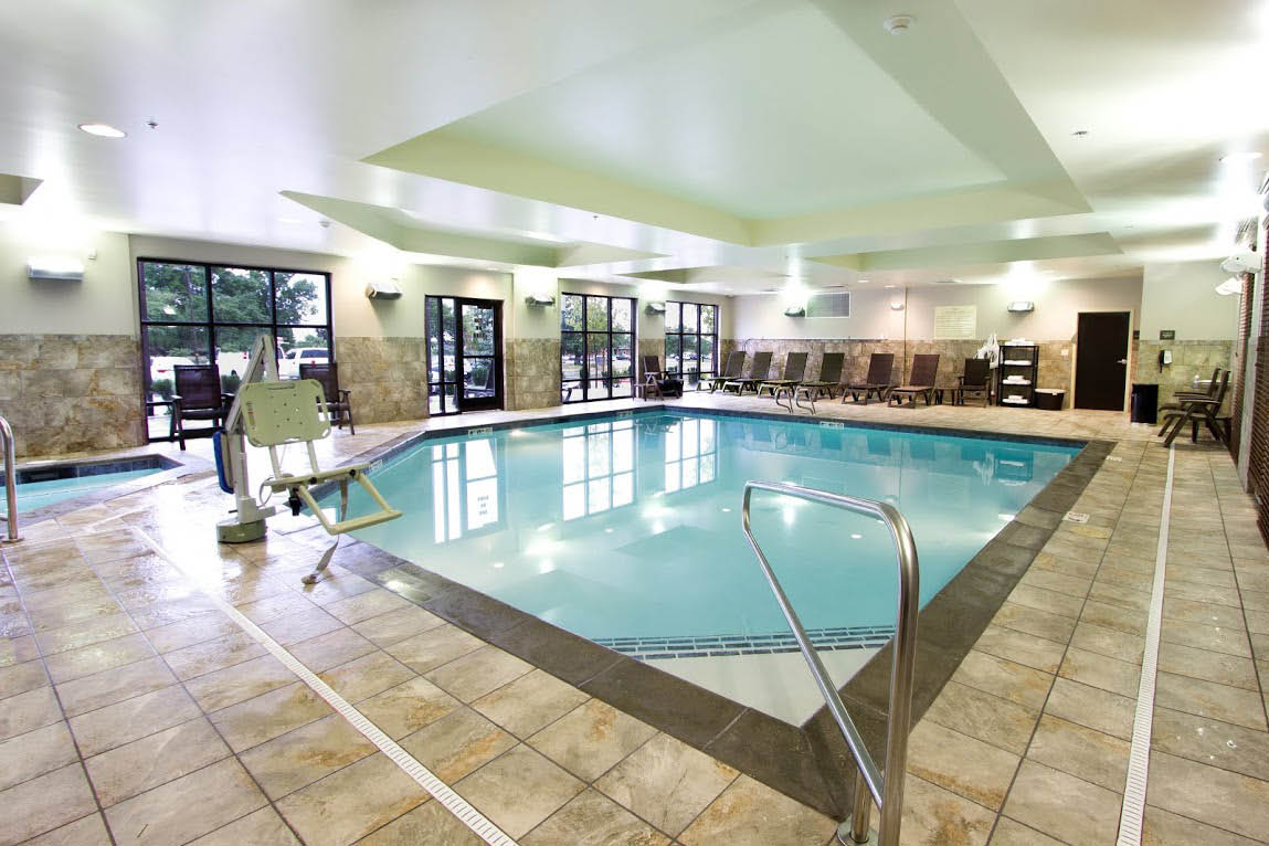 Indoor, heated swimming pool, hot tub, Salt Lake City / Farmington, Davis County, Utah.