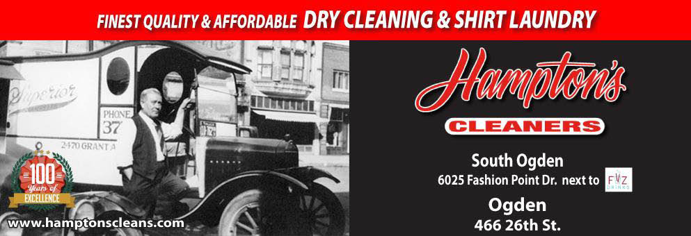 Hampton's Superior Dry Cleaning banner