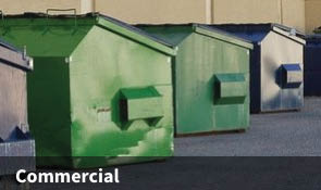 Convenient Commercial Container Cleaning Services.  We Serve Many Types of Businesses:  Restaurants, Office Buildings, Retail Stores and More!