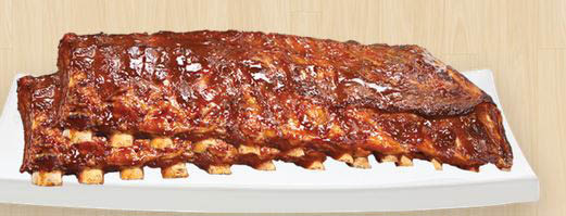 photo of a slab of ribs from Happy's Pizza in Clinton Township, MI