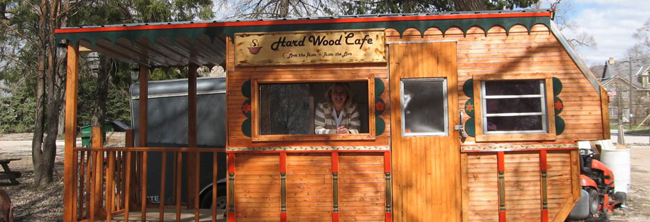 Hard Wood Cafe Catering Food Truck Milwaukee Banner