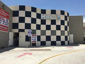 Harv's Car Wash exterior near Metta, CA