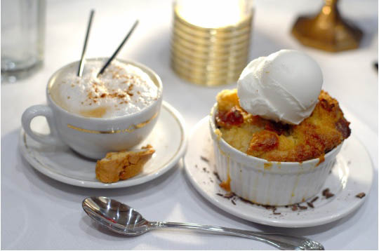 Our decadent bread pudding desserts are perfectly prepared for a fabulous finish
