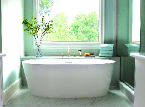 New bath remodel in Williamsburg